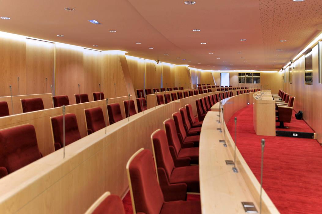 Proyecto 3d - Auditorium: Oficinas y Tiendas de estilo  de Realistic-design
