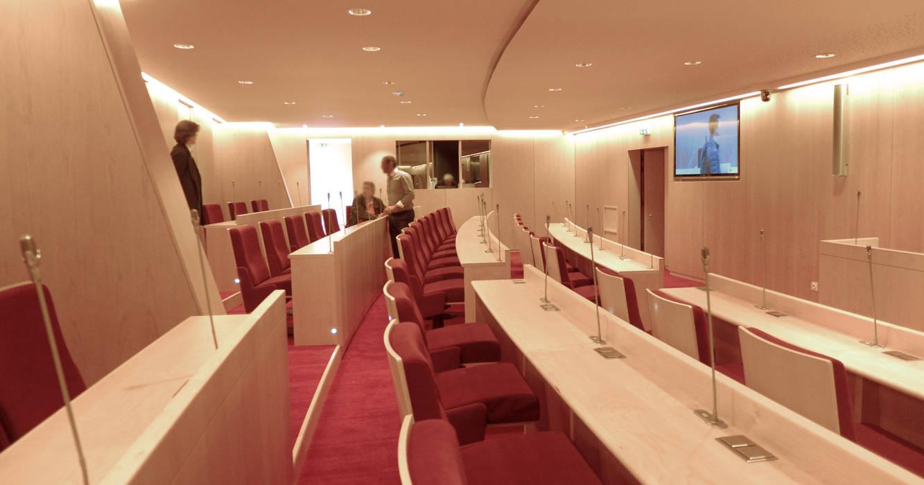 Proyecto 3d - Auditorium : Oficinas y Tiendas de estilo  de Realistic-design