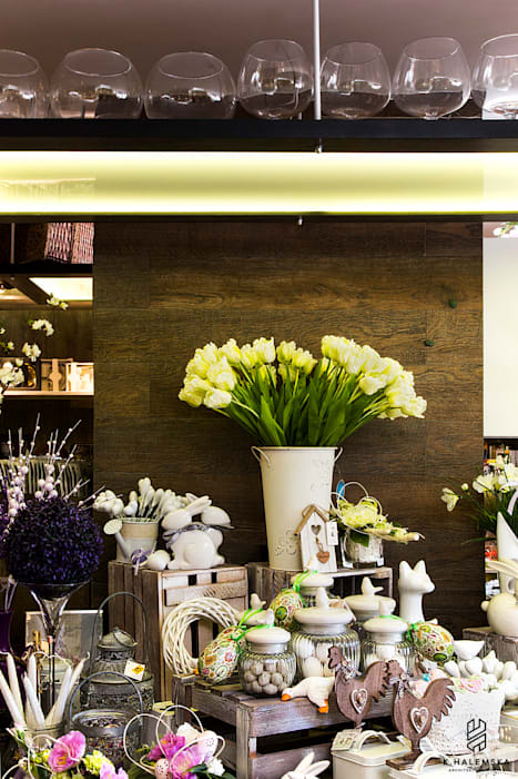 projekt kwiaciarni k.halemska Powierzchnie handlowe