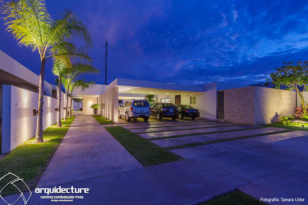 by Grupo Arquidecture Modern Stone