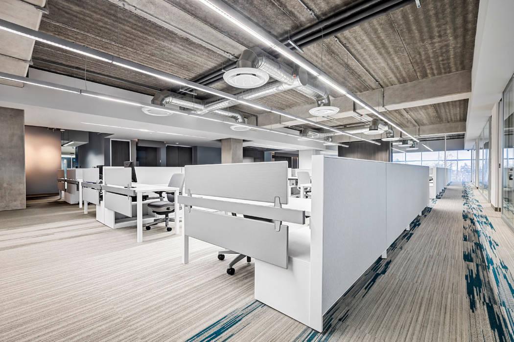 Grupo ITISA Edificios de oficinas de estilo moderno de usoarquitectura Moderno