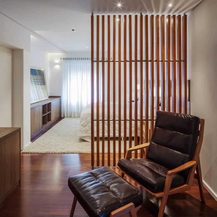 Planalto: Quartos  por FCstudio,Moderno