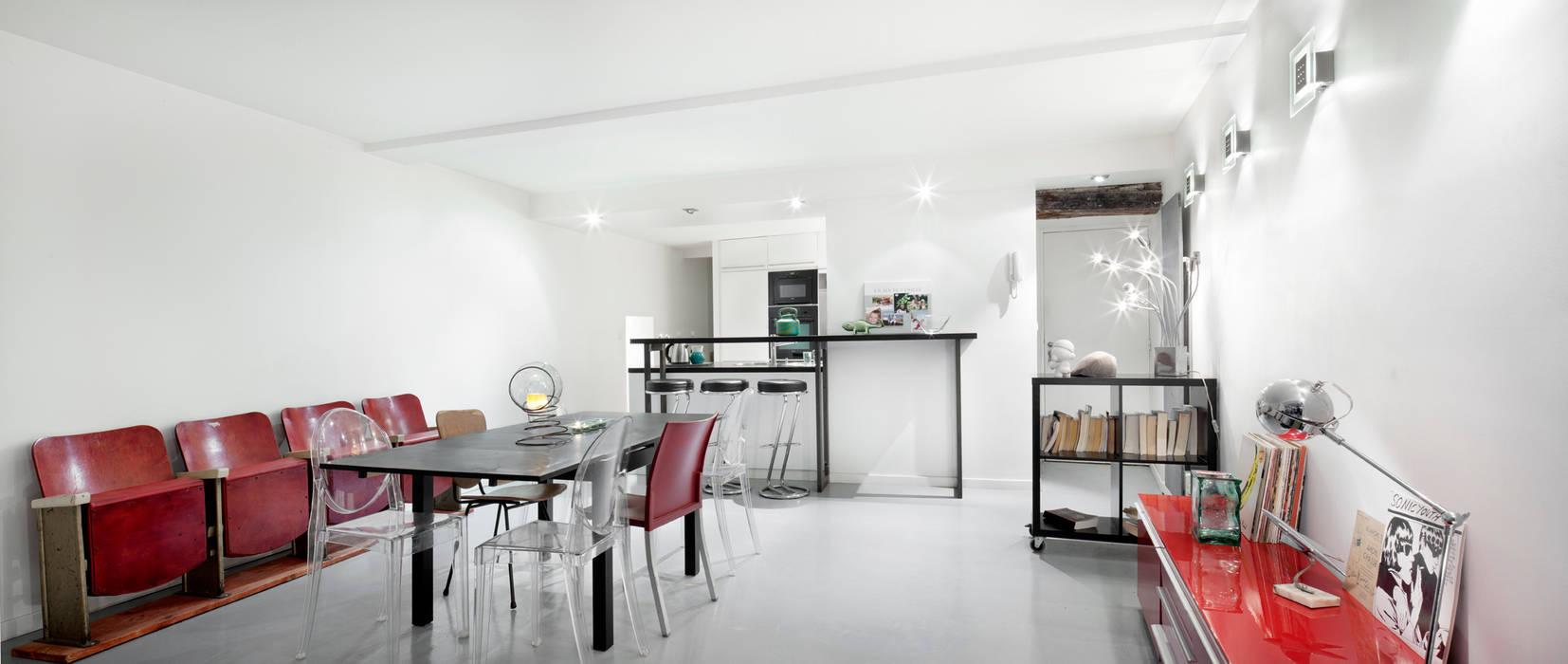 Projet Bodinier Salle à manger minimaliste par Padeker Minimaliste