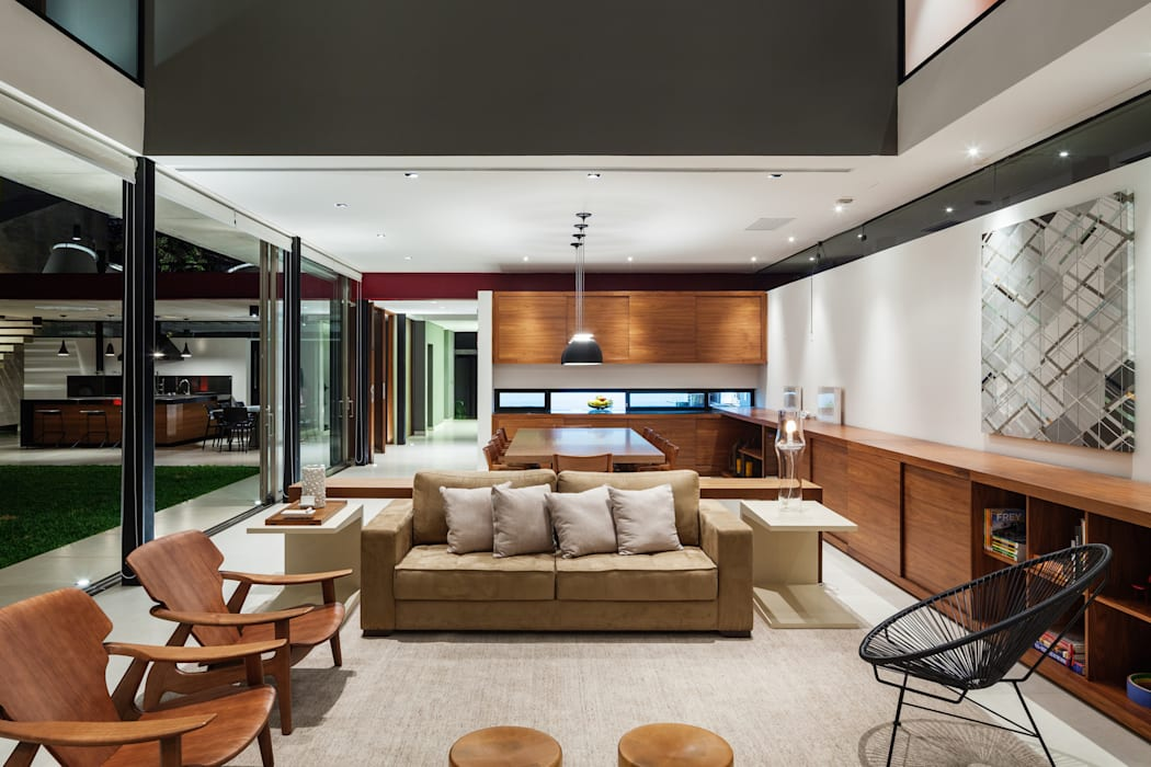 Livings de estilo moderno de FCstudio Moderno