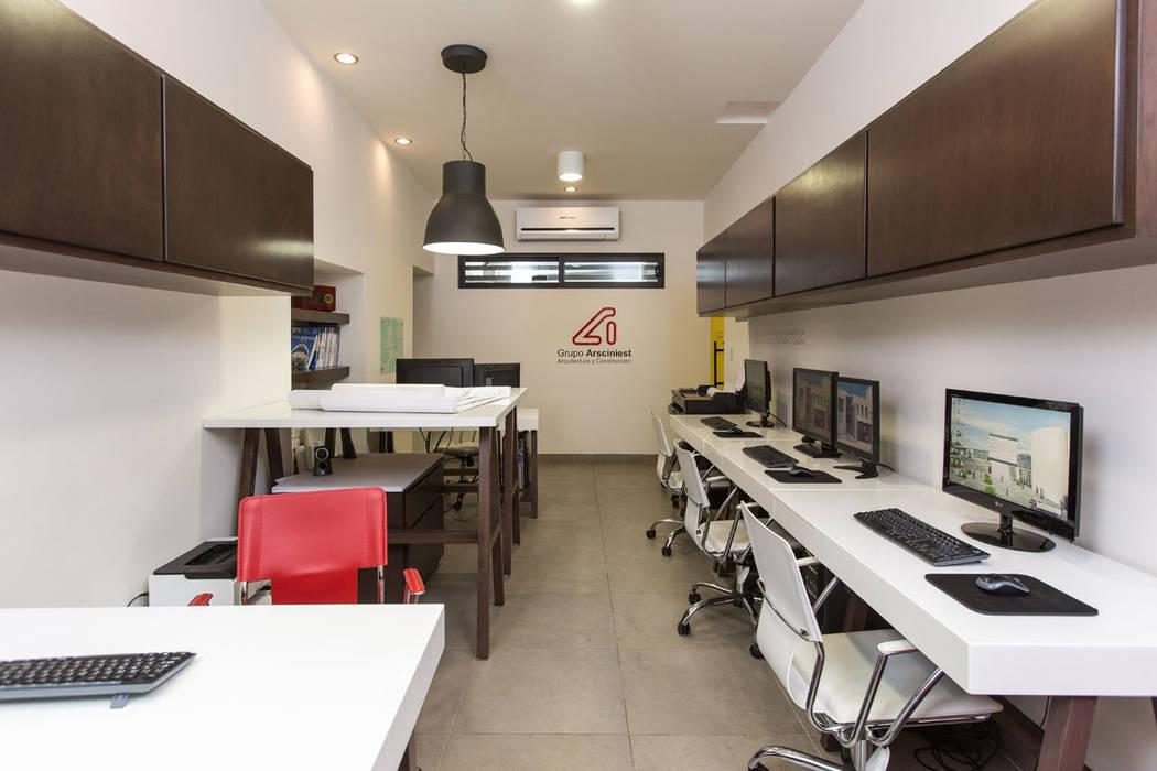 Edificio Niños Heroes - Grupo Arsciniest Edificios de oficinas de estilo moderno de Grupo Arsciniest Moderno