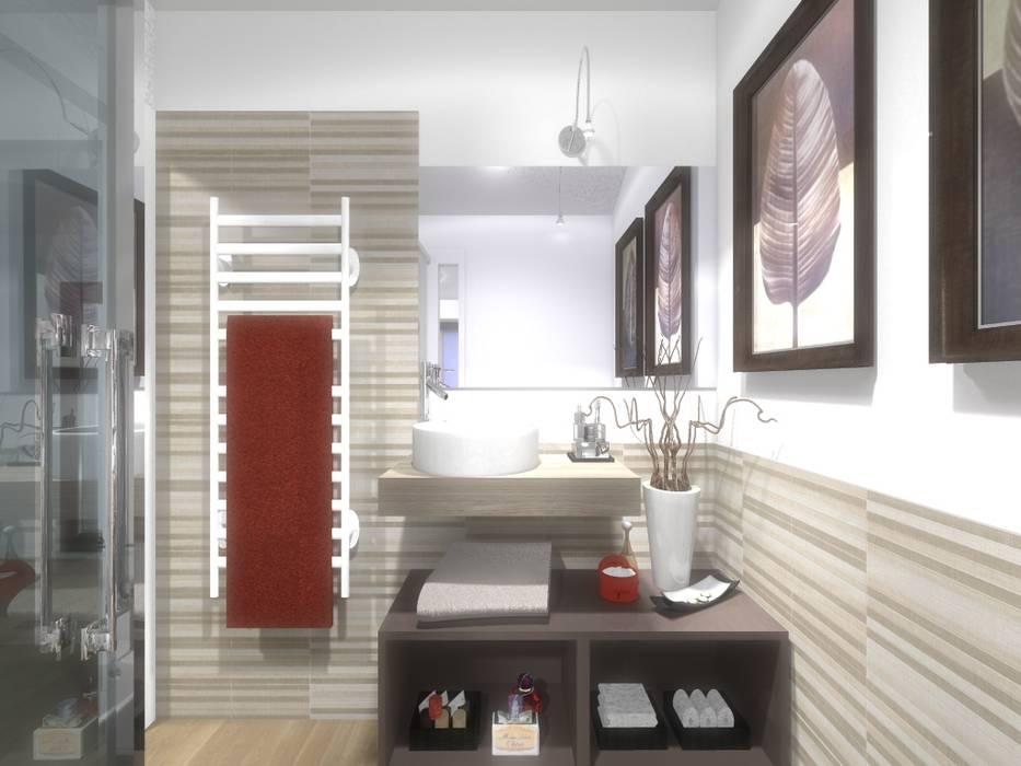 Bagno di servizio bagno in stile di silvia motta architettura e