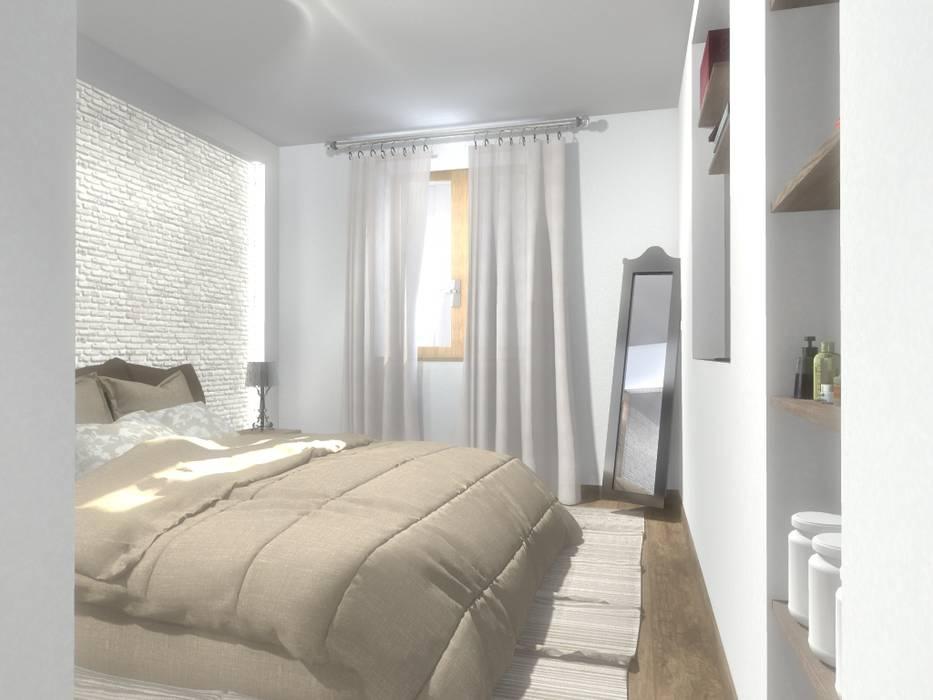 Camera matrimoniale camera da letto in stile di silvia for Camera matrimoniale design