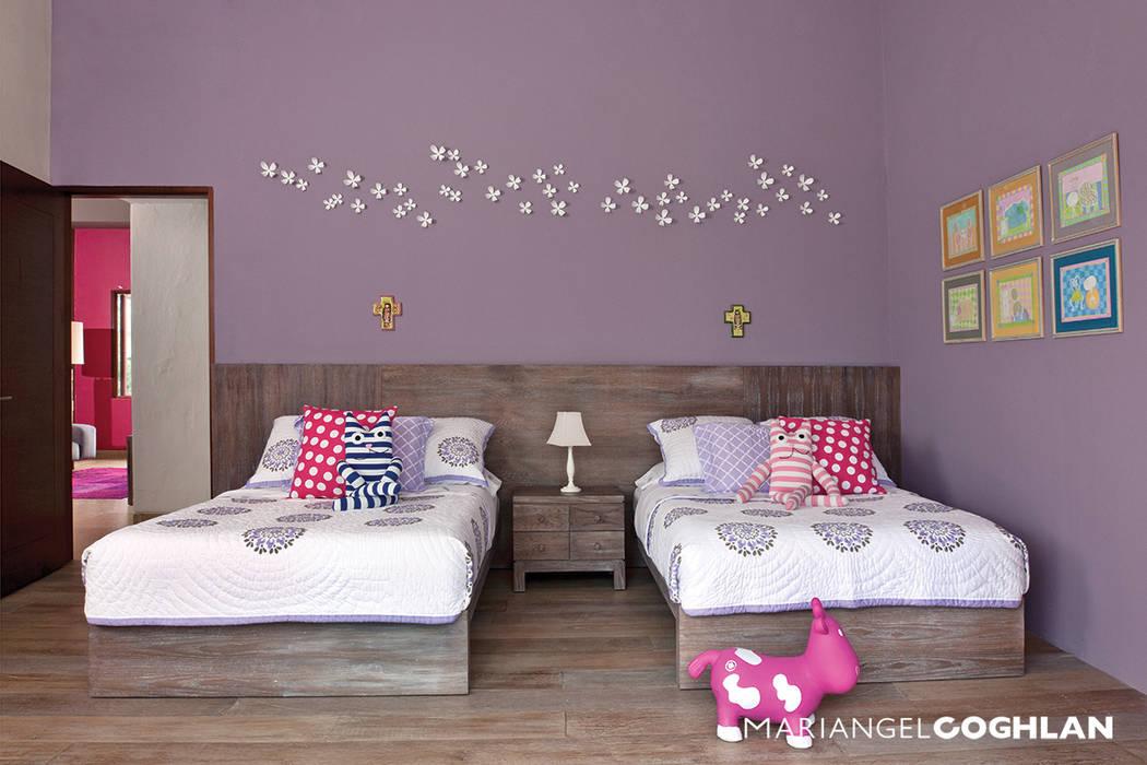 Recámara niña MARIANGEL COGHLAN Dormitorios infantiles modernos
