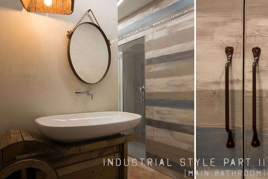Industrial And Vintage Bathroom Bagno In Stile Industriale Di