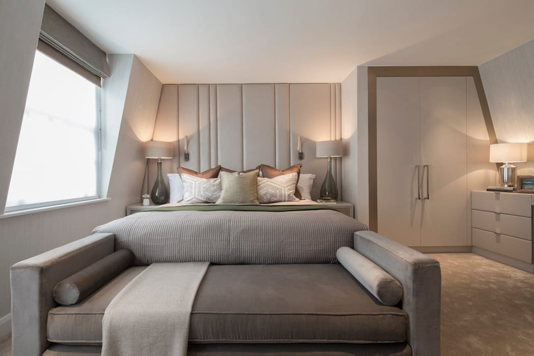 Eaton Mews North - Master Bedroom by Roselind Wilson Design Modern