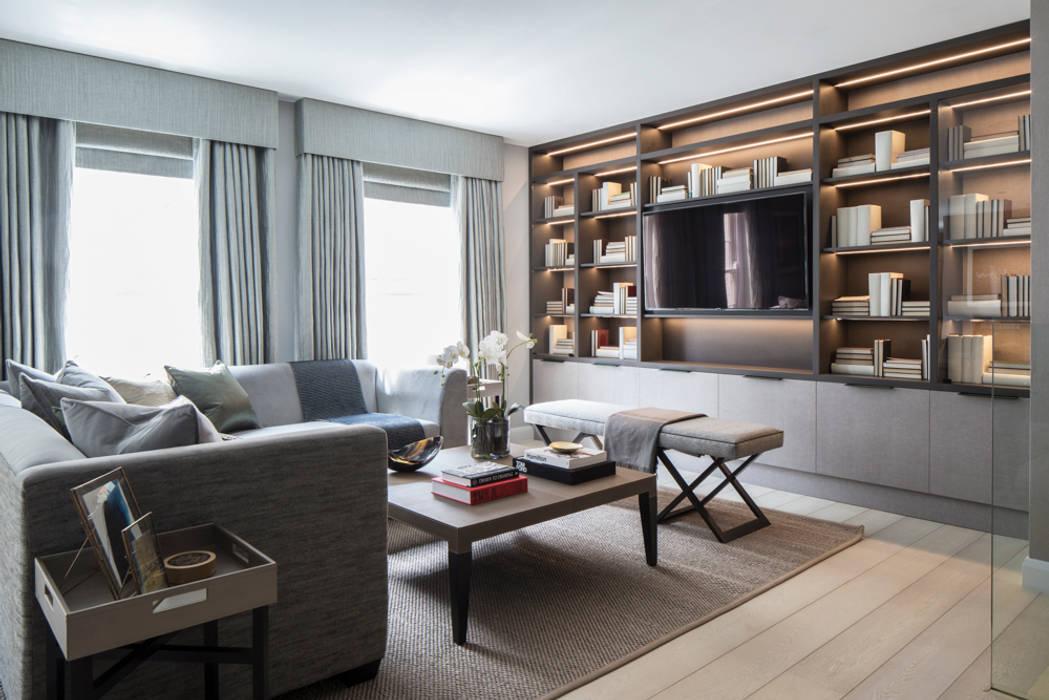 Eaton Mews North - Living Room: modern Living room by Roselind Wilson Design
