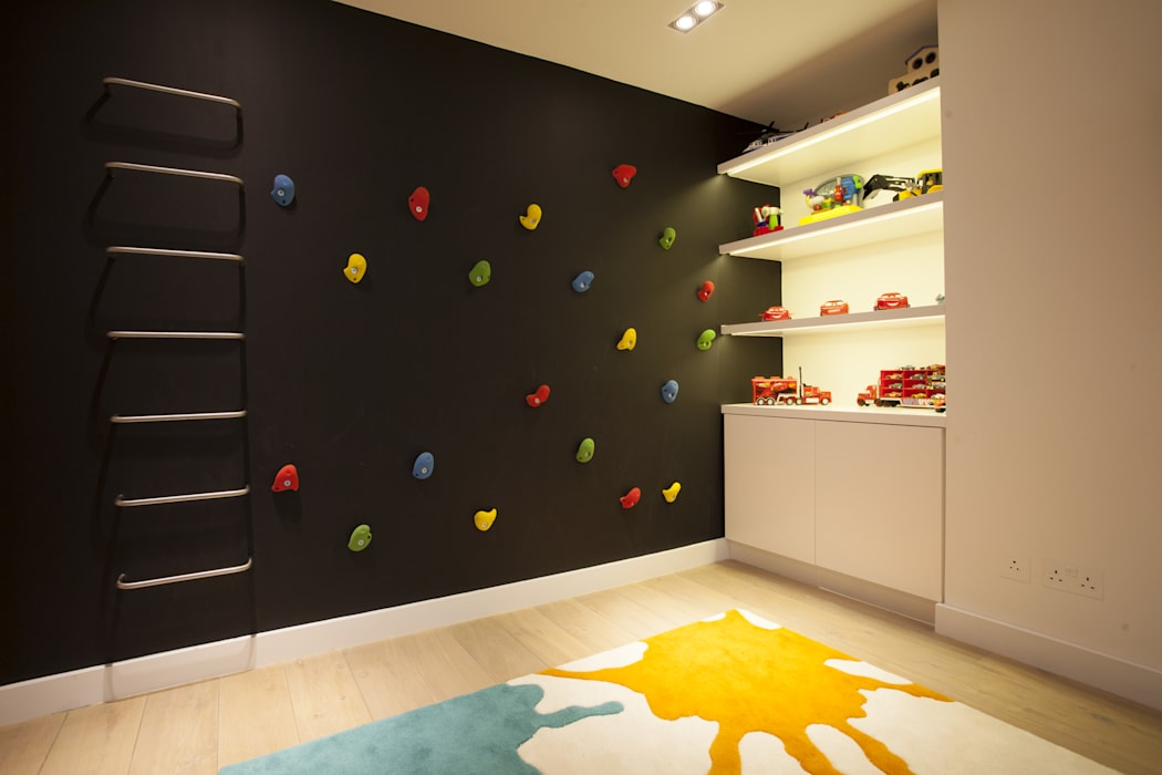 Play Room Roselind Wilson Design Dormitorios infantiles de estilo moderno