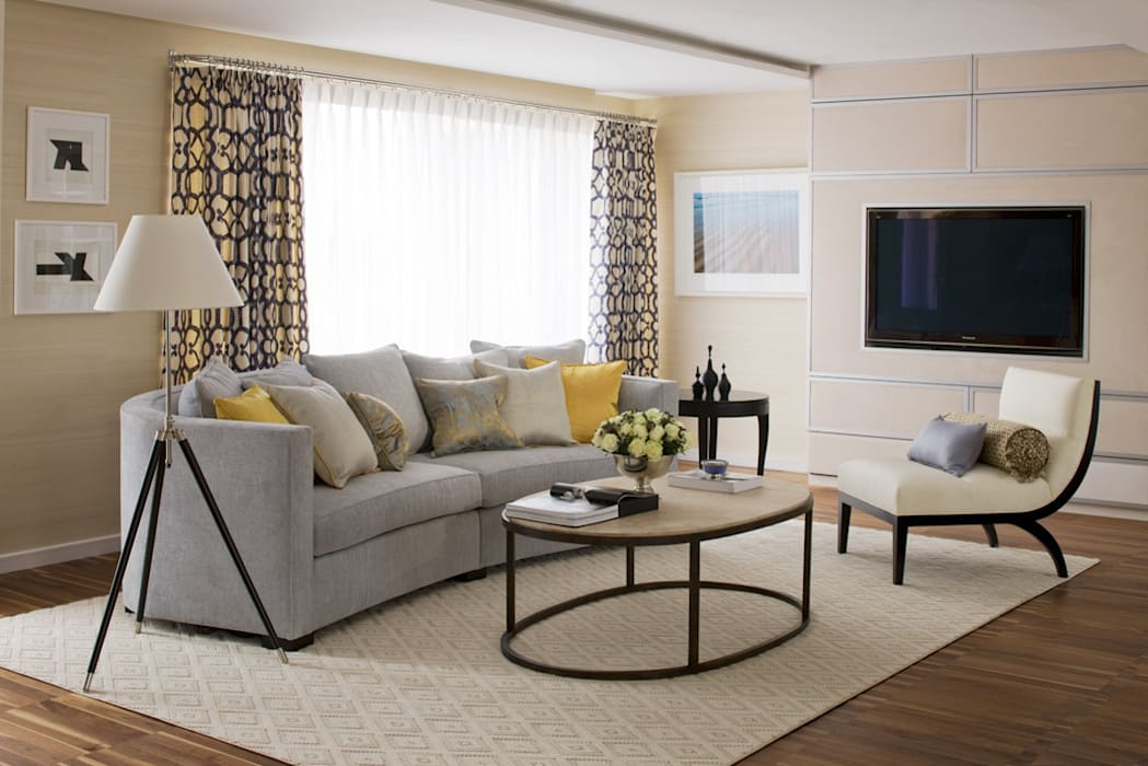 Living Room:  Living room by Roselind Wilson Design