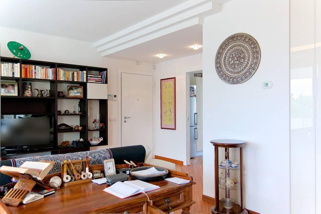 Design di interni Case moderne di Albini Architettura Moderno