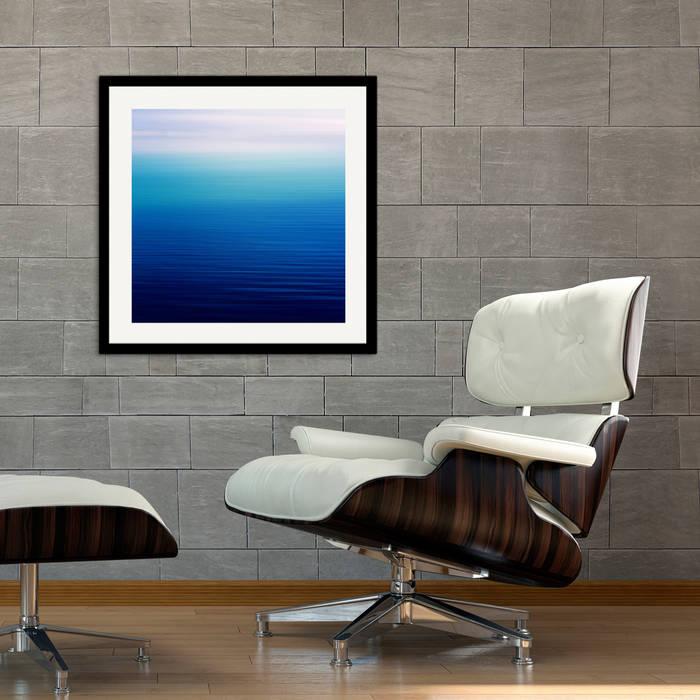 shades of blue finds and art Kunst Bilder & Gemälde Blau