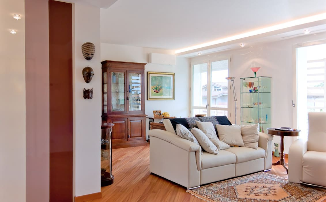 Design di interni case moderne di albini architettura for Architettura interni case