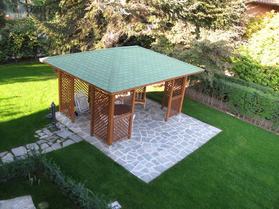 Villa Meina: Giardino in stile  di Matteo Verdoia Architetto