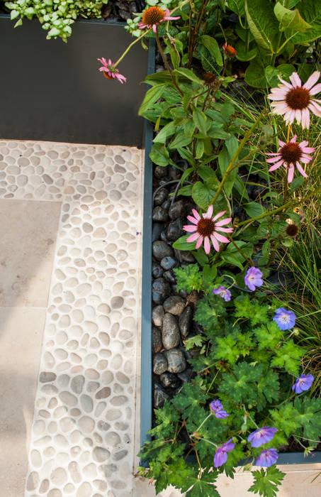 Knightsbridge Roof Terrace - Aralia Garden Design Galerías y espacios comerciales de estilo moderno de Aralia Moderno Piedra