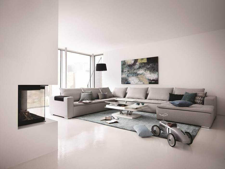 Mezzo sofa: moderne wohnzimmer von boconcept germany gmbh | homify
