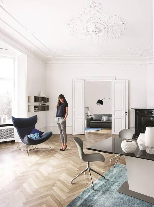 Imola sessel moderne wohnzimmer von boconcept germany gmbh ...