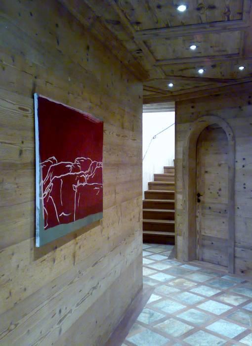 ingresso: Ingresso & Corridoio in stile  di arch patrizia cagliani