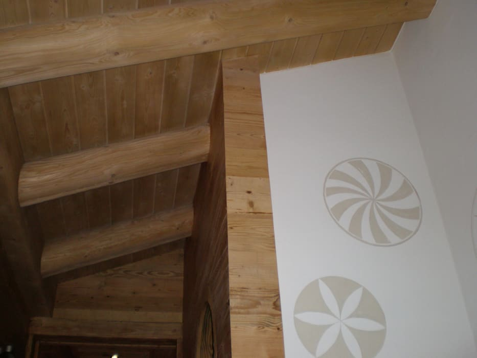 particolare scala: Ingresso & Corridoio in stile  di arch patrizia cagliani