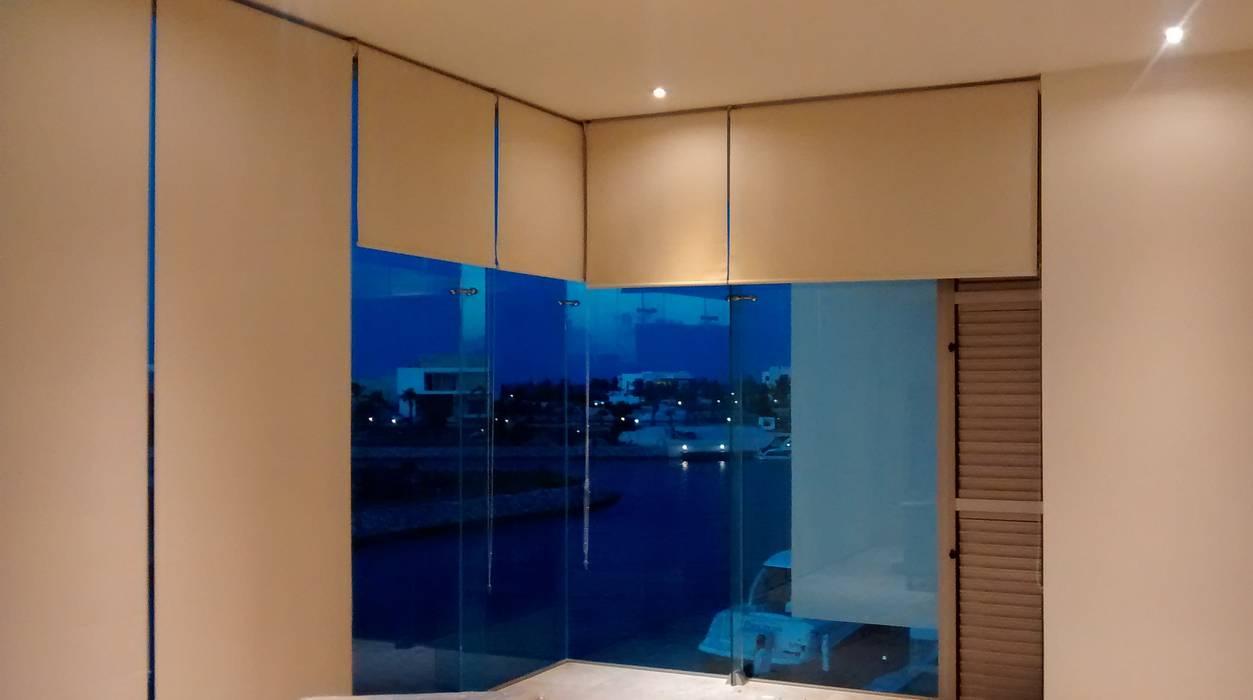 Habitación Principal: Recámaras de estilo  por Vortex Arquitectos, Minimalista