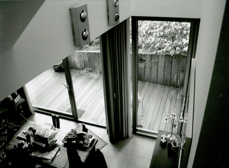 Haus Rohleder Moderne Wohnzimmer von IOX Architekten GmbH Modern