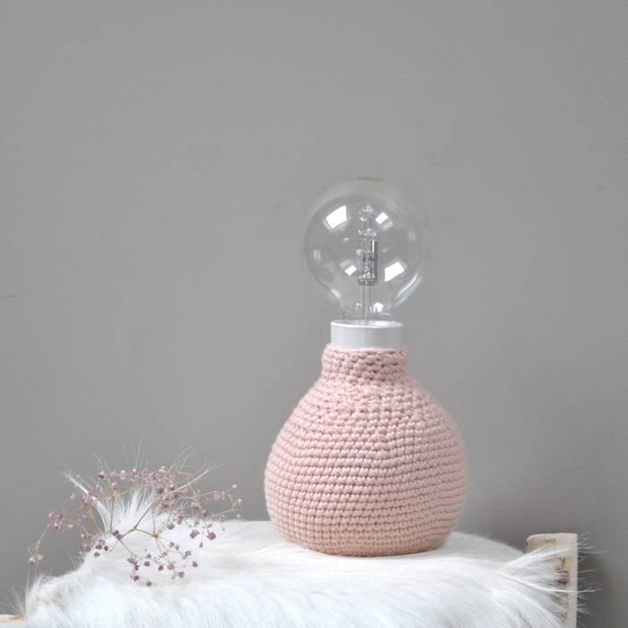 Lampe en crochet:  de style  par Repère des belettes,