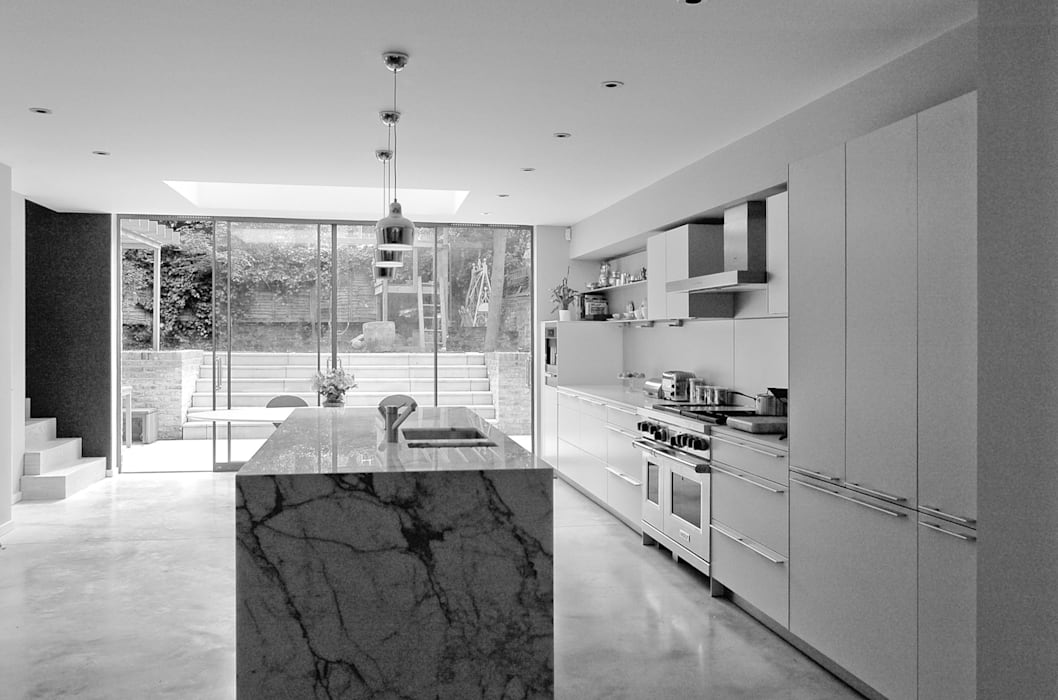 Alwyne Place, Islington Kitchen by Emmett Russell Architects