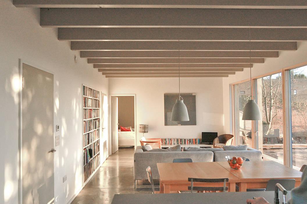 Rose House, Kingsdown Ruang Keluarga Modern Oleh Emmett Russell Architects Modern