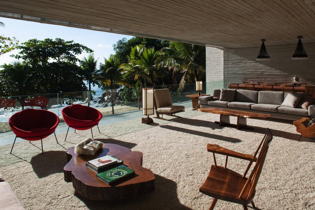 Studio MK27 Modern style balcony, porch & terrace