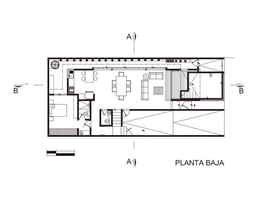 Casas de estilo  de Taller ADC Architecture Office