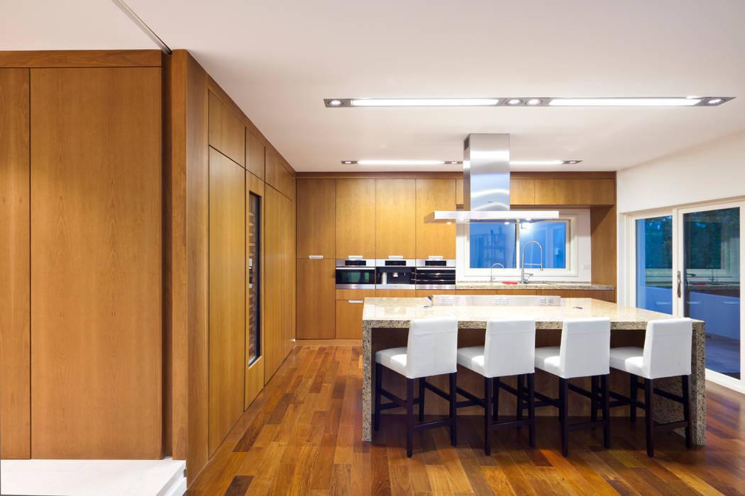 Cocinas de estilo moderno de ARQUITECTURA EN PROCESO Moderno