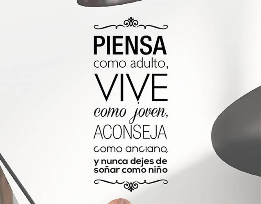 Originales vinilos con frases textos y citas hogar de - Vinilos con textos ...