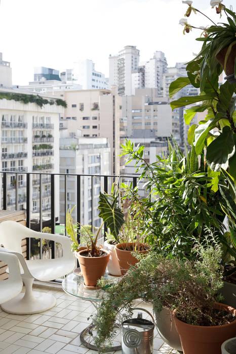 Eclectic style garden by Mauricio Arruda Design Eclectic