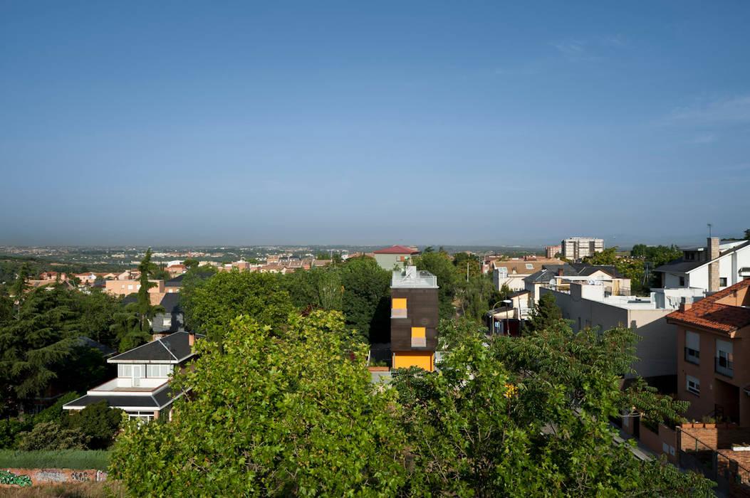 panorama: Casas de estilo minimalista de hollegha arquitectos