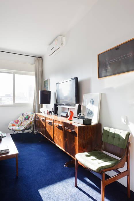 Residência Lorena Quartos ecléticos por Mauricio Arruda Design Eclético
