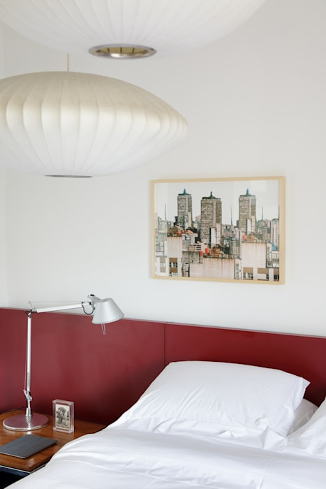 Eclectic style bedroom by Mauricio Arruda Design Eclectic