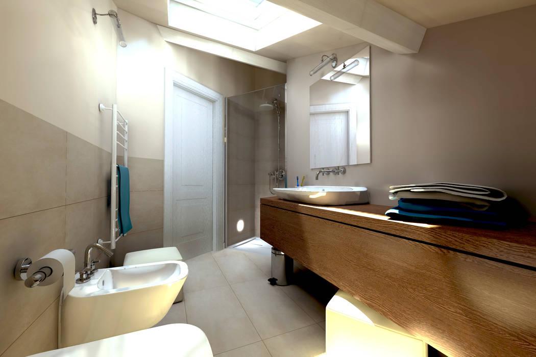Progettazione d 39 interni bagno in stile di aaa for Architettura e design interni