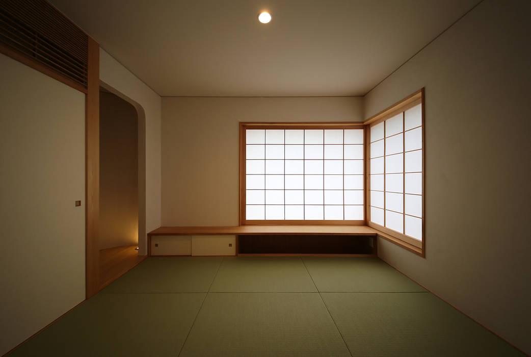ライトハウス 建築設計事務所 住記屋 和風デザインの 多目的室