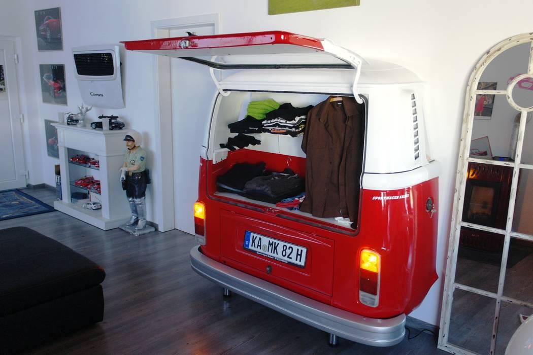 kleiderschrank ausgefallen, vw t2 kleiderschrank: ausgefallene wohnzimmer von automöbeldesign, Design ideen