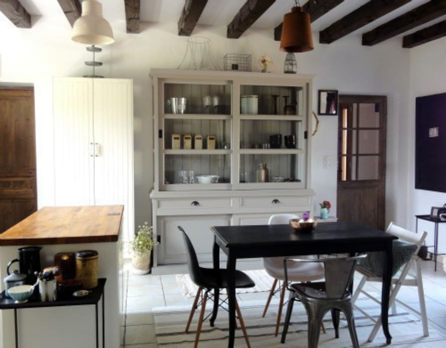 Kitchen update Scandinavian style kitchen by Hege in France Scandinavian