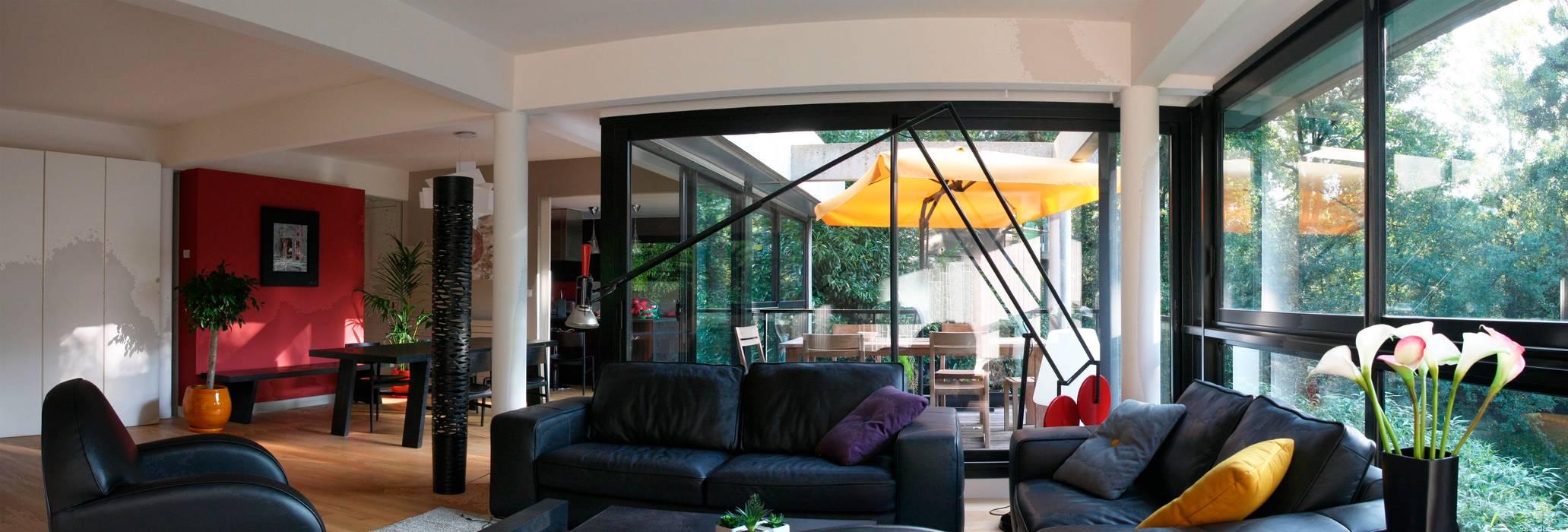 salon Salon moderne par Before After Home Moderne