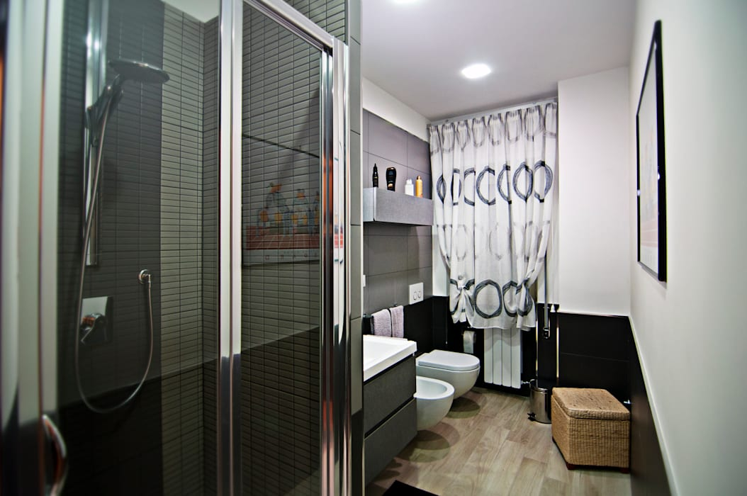 MM flat in Rome Case moderne di Davide Coluzzi DAZ architect Moderno