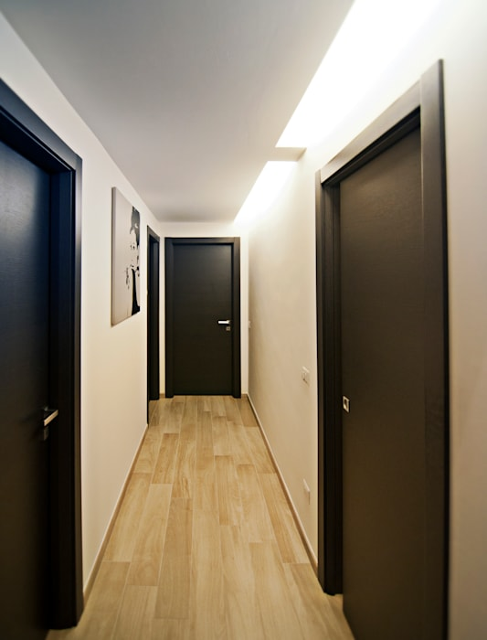 MM flat in Rome: Case in stile in stile Moderno di Davide Coluzzi DAZ architect