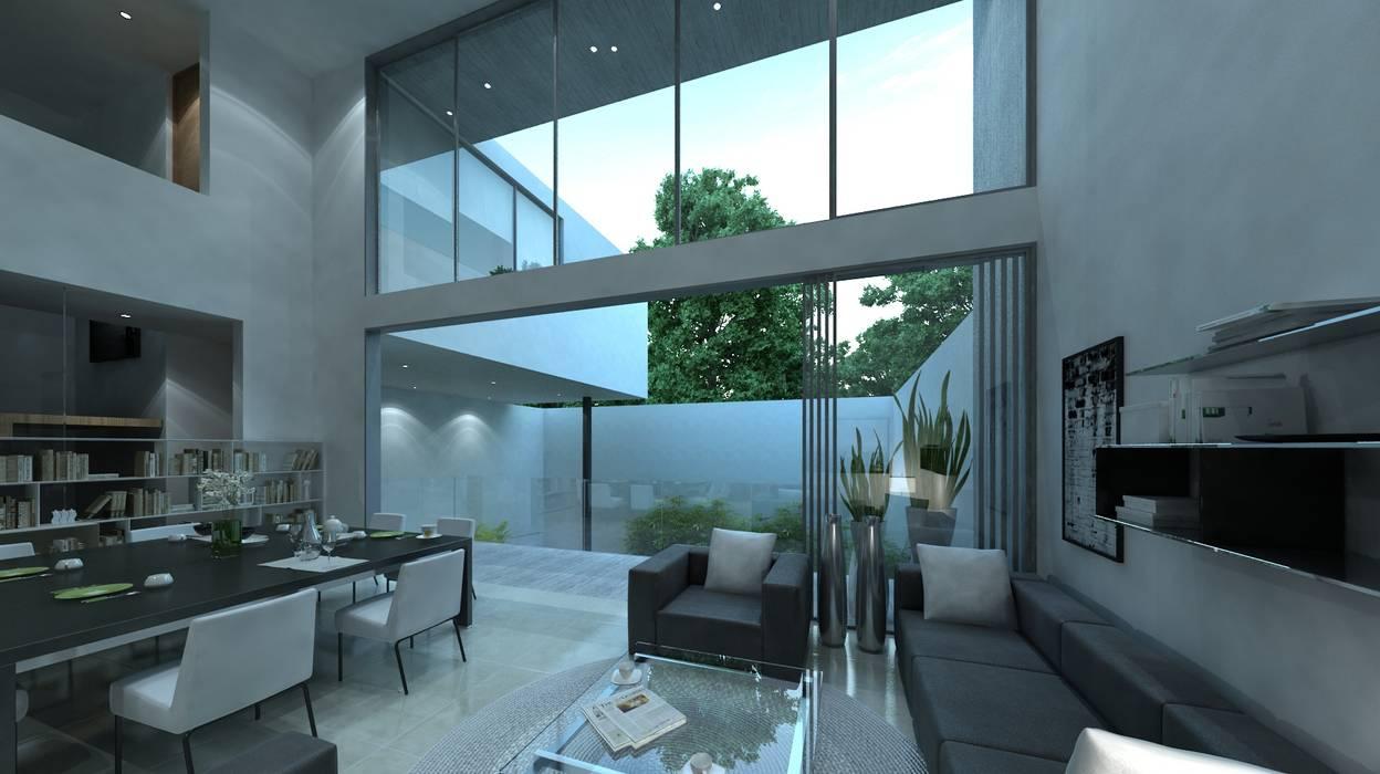 Casas de estilo  de TaAG Arquitectura