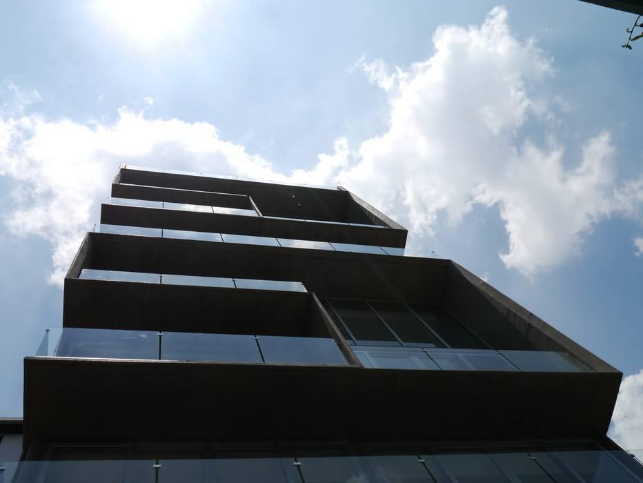 Arquimedes 168 Exterior Casas modernas de Mimesis Desarrolladora Moderno