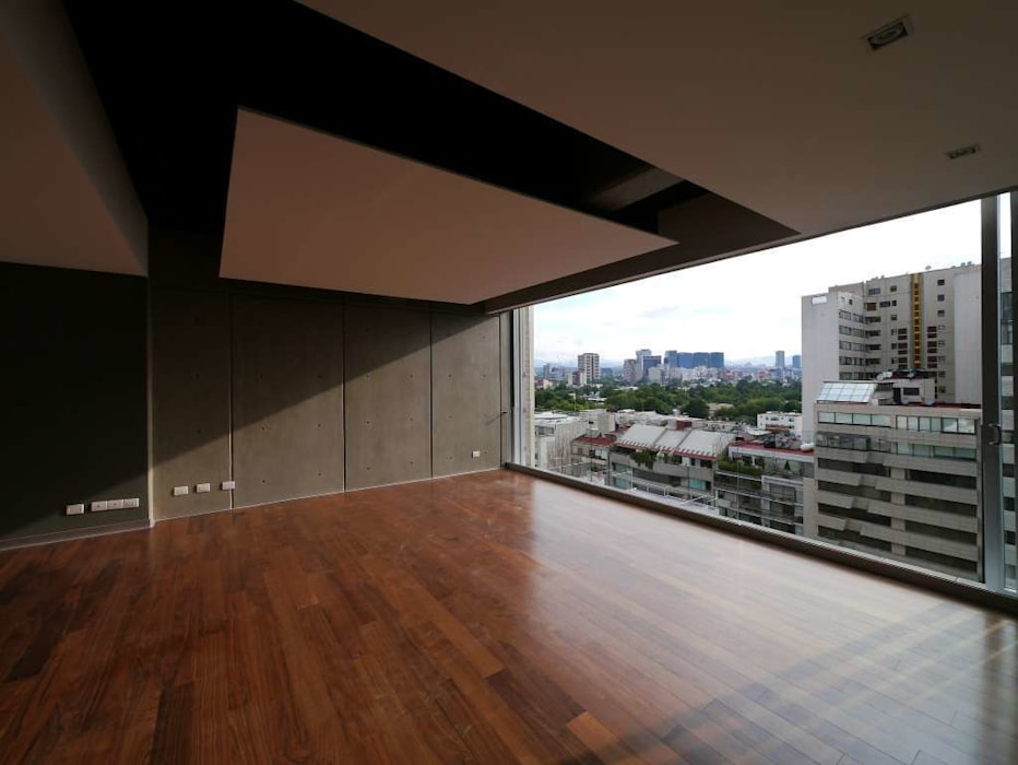 Arquimedes 168 Interior 1: Casas de estilo moderno por Mimesis Desarrolladora