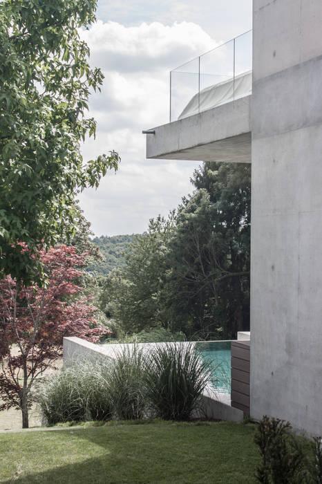 Maisons modernes par herzog,kassel+partner Moderne